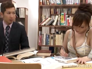 Chihaya Yutsuka hot Asian milf gets big tits fucked asian asian