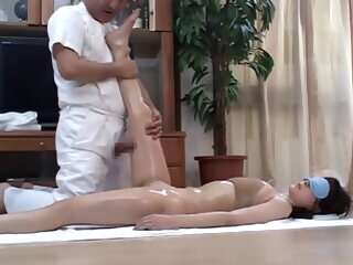 Concupiscent Japanese Wives Massaged and then Screwed at Home 4 - CM japanese asian
