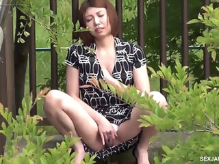 Seira Scratches Her Itch In Public - VoyeurJapanTV asian asian